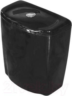 Сливной бачок Керамин Омега-N (черный)