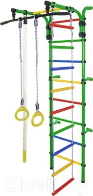 Детский спортивный комплекс Формула здоровья Орленок-1А Плюс Оранжевый радуга