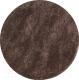 Ковер OZ Kaplan Super Shaggy (120x120, коричневый) -
