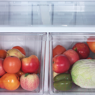Холодильник с морозильником Sharp SJ-XE55PMBK