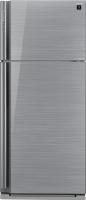Холодильник с морозильником Sharp SJ-XP59PGSL -