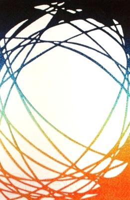 Ковер Lalee California 101 (120x170, белый-оранжевый)