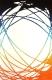 Ковер Lalee California 101 (160x230, белый-оранжевый) -