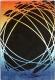 Ковер Lalee California 101 (120x170, черный-оранжевый) -
