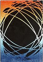 Ковер Lalee California 101 (160x230, черный-оранжевый) -
