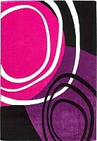 Ковер Lalee California 104 (120x170, фуксия-пурпурный) -