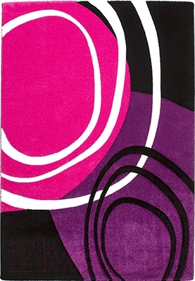 Ковер Lalee California 104 (160x230, фуксия-пурпурный)