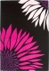 Ковер Lalee California 164 (120x170, черный-фуксия) -