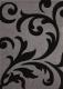 Ковер Lalee Lambada 451 (140x200, серебряный-черный) -
