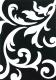 Ковер Lalee Lambada 451 (80x150, черный-белый) -