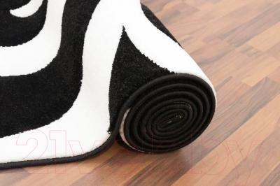 Ковер Lalee Lambada 451 (80x300, черный-белый)