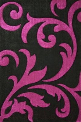 Ковер Lalee Lambada 451 (80x150, черный-лиловый)