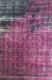 Ковер Flora Leo (160x230, черный/лиловый) -