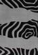 Ковер Haskaplan Lucia 459 (133x195, черный/серебристый) -