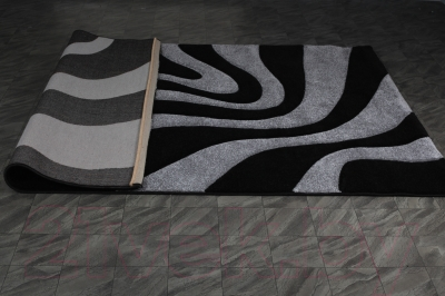 Ковер Haskaplan Lucia 5889 (80x200, черный/серый)