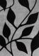 Ковер Haskaplan Lucia 640 (80x200, серебристый/черный) -