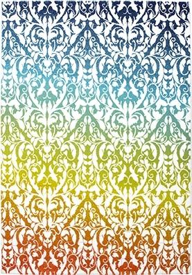 Ковер Lalee Maya 482 (160x230, белый-зеленый)