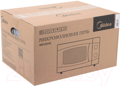 Микроволновая печь Midea MM720CKE - коробка
