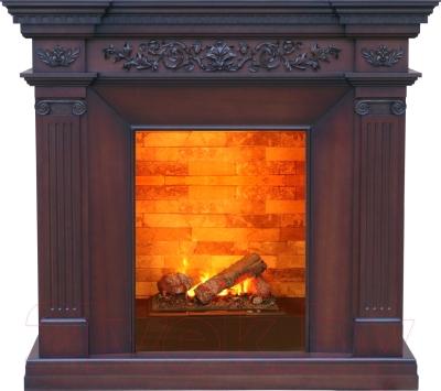 Портал для камина Смолком Amalfi C 400 (махагон коричневый антик)