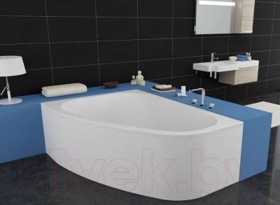 Ванна акриловая Kolpa-San Chad 170x120 L (экран + каркас + сифон)