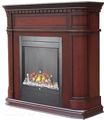 Портал для камина Смолком Cabinet ALB (махагон коричневый антик)