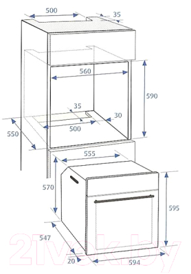 Электрический духовой шкаф Beko BIE22301X