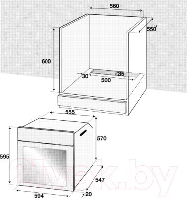Электрический духовой шкаф Beko BIM25400XMS