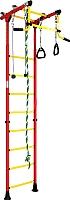 Детский спортивный комплекс Romana Комета 2 ДСКМ-2-8.00.Г.490.01-11 (красный/желтый) -