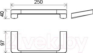 Держатель для полотенца Ravak X07P324