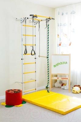 Детский спортивный комплекс Romana Карусель S1 ДСКМ-2С-8.00.Г3.490.01-13 (зеленый/желтый)