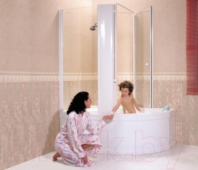 Ванна акриловая Ravak Rosa 150x105 L (CK01000000)