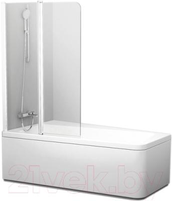 Стеклянная шторка для ванны Ravak 10CVS2-100 L (7QLA0103Z1)