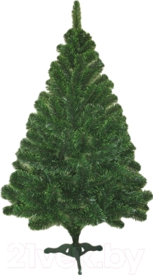 Ель искусственная Ёлкино с зелеными концами (1.3м)