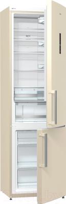 Холодильник с морозильником Gorenje NRK6201MC-0