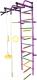 Детский спортивный комплекс Формула здоровья Лира-3К Плюс (фиолетовый/радуга) -
