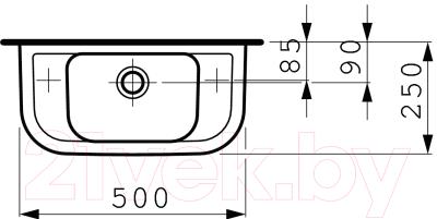 Умывальник Laufen Pro 8169570001051