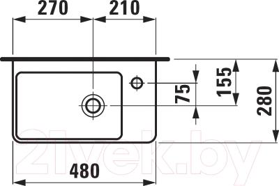 Умывальник Laufen Pro S 8159540001041