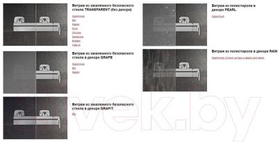 Душевое ограждение Ravak Pivot PSKK3-90 (37677C00Z1)