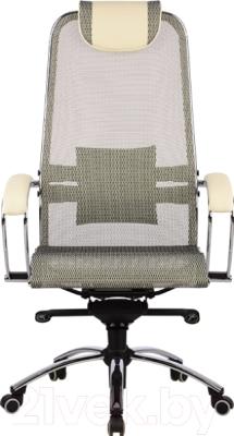 Кресло офисное Metta Samurai S1 (бежевый)