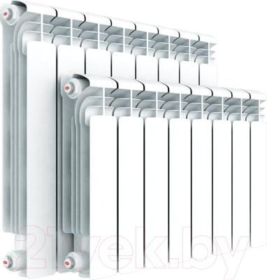 Радиатор алюминиевый Rifar Alum 500 (3 секции) - реальный вид товара может отличаться от представленного