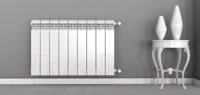 Радиатор алюминиевый Rifar Alum 350 (2 секции)