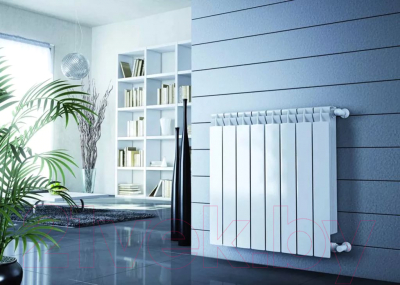 Радиатор биметаллический Rifar Base 500 (4 секции)