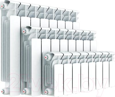 Радиатор биметаллический Rifar Base 200 (3 секции)
