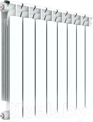 Радиатор биметаллический Rifar Alp 500 (3 секции) - реальный вид товара может отличаться от представленного