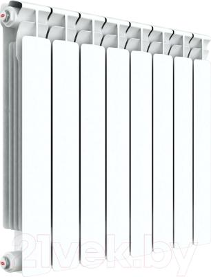 Радиатор биметаллический Rifar Alp 500 (8 секций) - реальный вид товара может отличаться от представленного