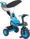 Детский велосипед с ручкой Injusa Triciclo Free Blue 3370 -