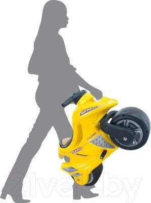 Детский мотоцикл Injusa Стрела 648 - удобная ручка для переноски