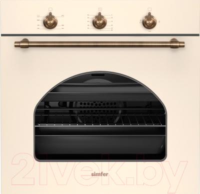 Газовый духовой шкаф Simfer B6GO12011