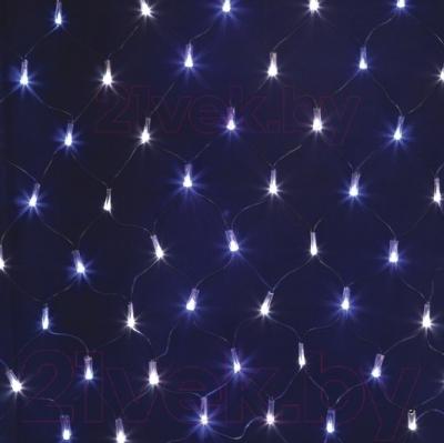 Светодиодная сеть Neon-Night 215-012 (2x0.7м, белый/синий)