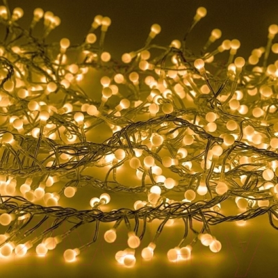 Светодиодная гирлянда Neon-Night Мишура 303-601 (3м, желтый)